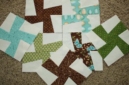 Whirligig blocks